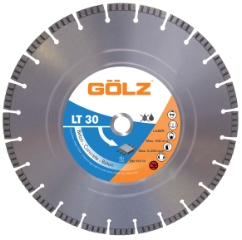 Gölz LT 30, Ø350x25,4 mm, Diamantskive