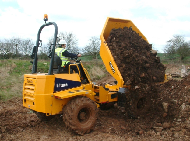 Thwaites 6 tons dumper
